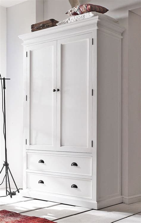 White Hanging Wardrobe wardrobe closet wardrobe closet white vintage