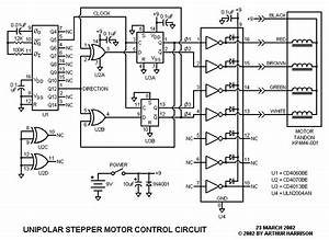 Stepper Motor Controller Circuit Diagram Pdf