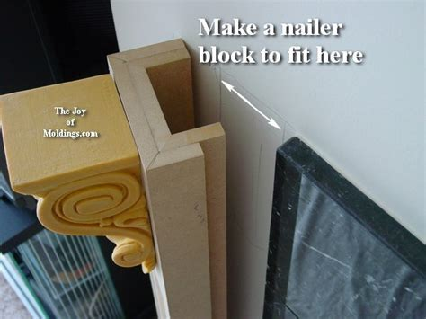 Mdf Corbels by How To Build Fireplace Mantel 102 Part 2 Make The