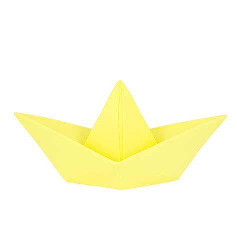 le bateau origami jaune little marmaille