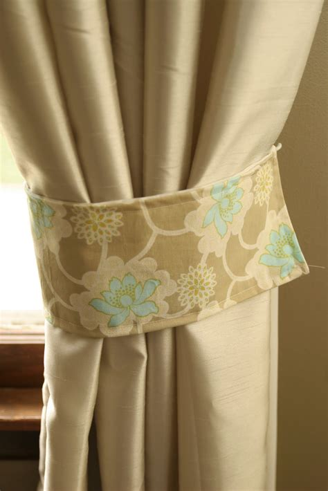 how to make curtain tie backs how to make curtain tie backs 8741