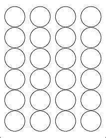 Blank Label Templates 30 Per Sheet Label Templates Ol325 1 67 Quot Circle Labels Template Onlinelabels Com