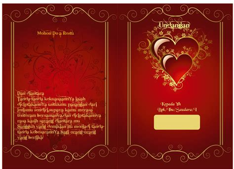 undangan pernikahan jatayu grafis