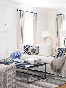 25, White, Living, Room, Design, Ideas