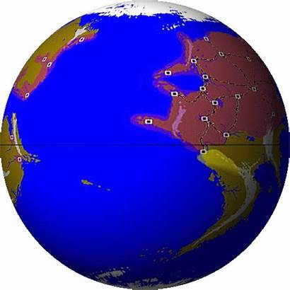 Globe Animated Spinning Clipart Animation Gifs Earth