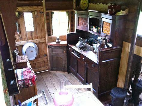 converted bedford tk horsebox wooden body woodburner