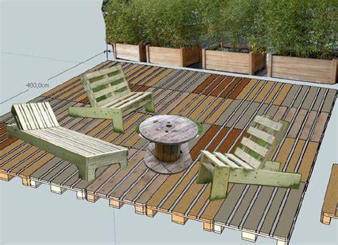 nivrem com faire une terrasse en bois palette diverses