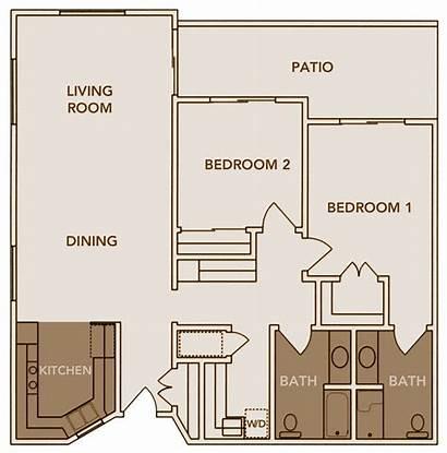 Bath Floor Bedroom Plans Plan Apartments Level