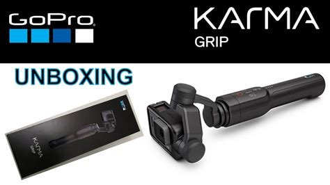 gopro karma grip unboxing     hero  black youtube
