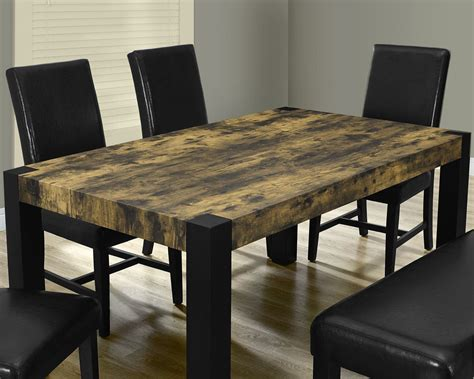 distressed dining room table sets modern distressed