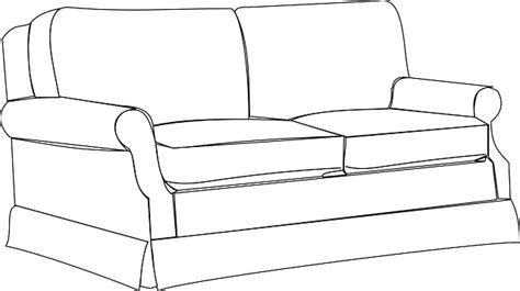 Sofa Clipart by Free Vector Graphic Sofa Furniture Home Room