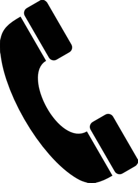 telephone clipart black and white black telephone icon clip at clker vector clip