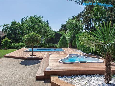 Whirlpool Im Garten  Haus Ideen