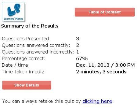 interactive   class english grammar quizzes