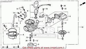 Honda Ch80 Elite 80 1997  V  Usa Carburetor