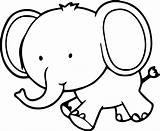 Elephant Coloring Pages Clipartmag sketch template