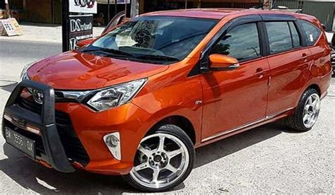 Toyota Calya Modification by 45 Modifikasi Mobil Toyota Calya Dan Daihatsu Sigra Paling