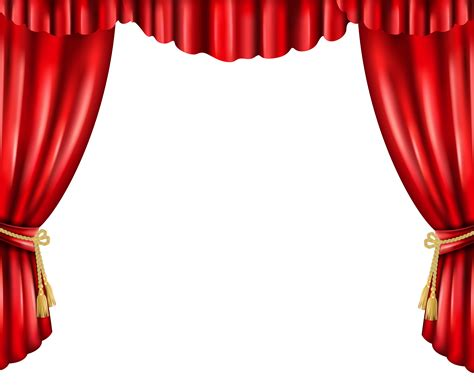 curtain png transparent clip art image gallery