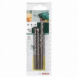Sds Quick Bohrer : bosch sds quick betonbohrer set 3 tlg 5 6 8 mm bauhaus ~ Michelbontemps.com Haus und Dekorationen