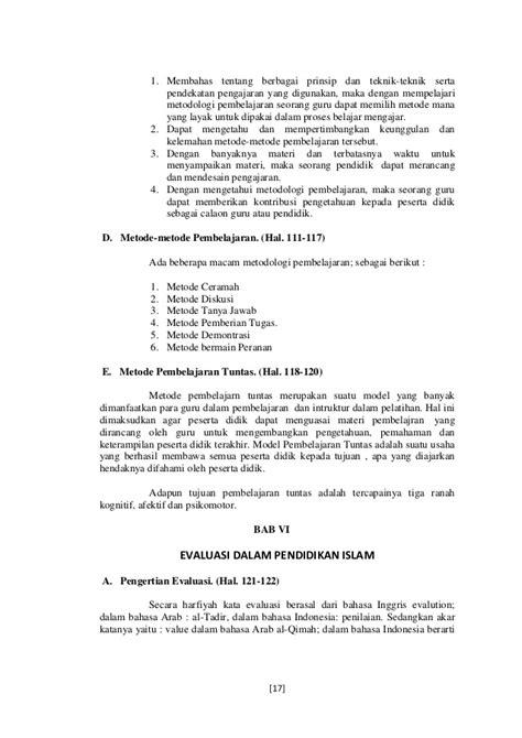 tugas resume buku ilmu pendidikan islam