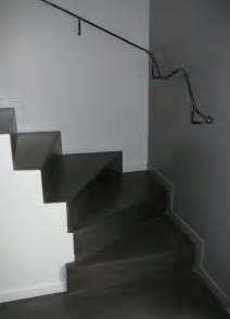 escalier beton cire With delightful peindre rampe escalier bois 10 prix dun escalier en bois