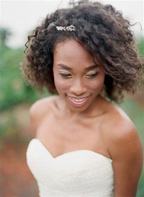brides hairstyles  short hair hairstyle  black women