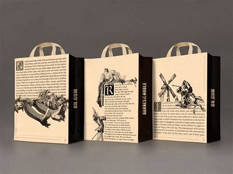 New Packaging For Barnes & Noble Highlights Content Over
