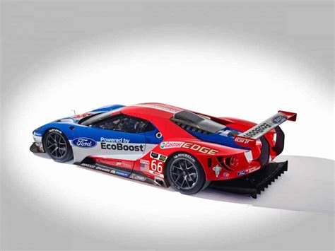 2018 Ford Gt Le Mans Race Car Unveiled
