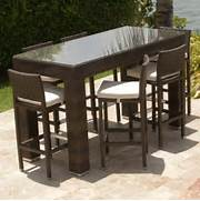 Patio Furniture Pub Table Sets by Outdoor Bar Table And Chairs Home Bar Design