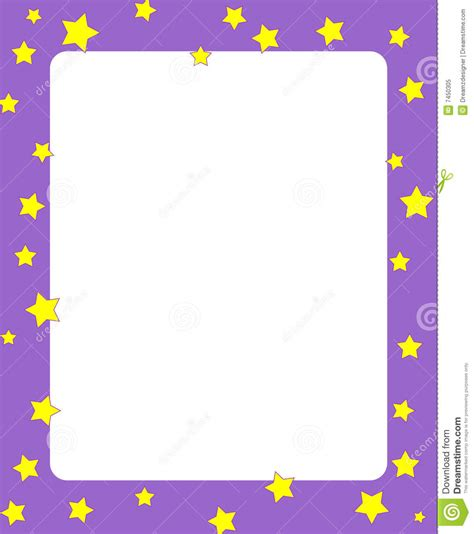 stars border frame royalty  stock photo image