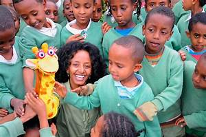 How a Hand Puppet Is Helping Millions of Ethiopian Kids