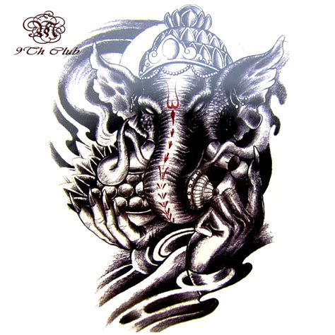 Images Of Indian Elephant God Tattoos Golfclub