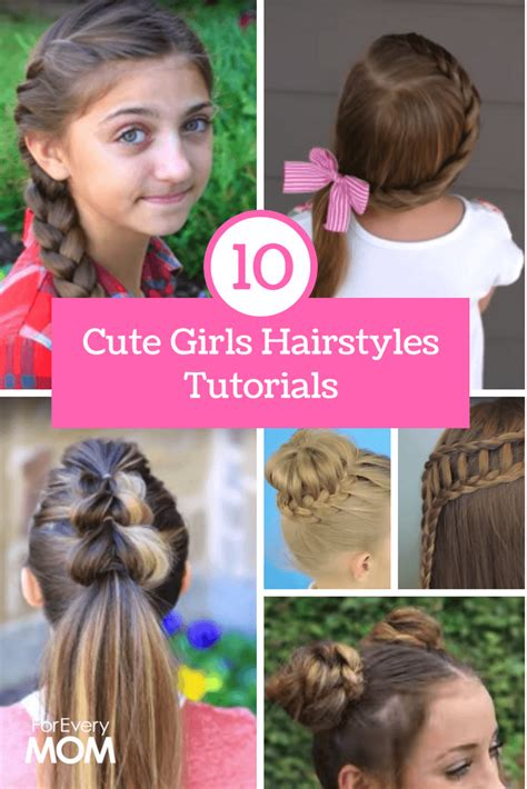 cute girls hairstyles tutorials top 10 of all time for