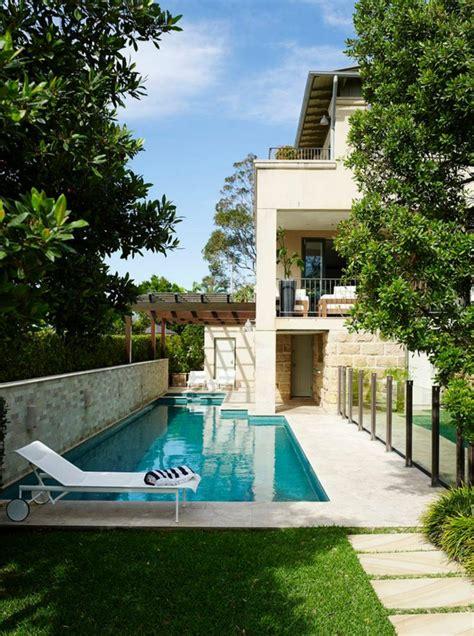 HD wallpapers petite maison moderne avec piscine