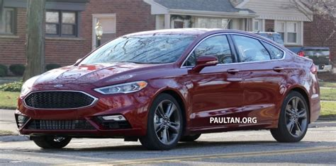 Spied Cd391 Ford Mondeo Facelift, Fully Undisguised