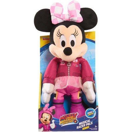 Disney Mickey Mouse Musical Set 11 mickey roadster racers musical racer pals 11 quot plush minnie