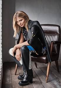 Chloë Grace Moretz - Photoshoot for Glamour Magazine US ...