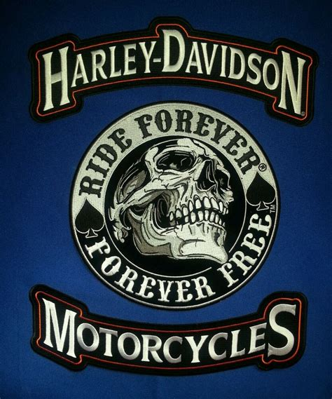 harley davidson patches harley davidson rocker patches w 9 ride forever forever free patch ebay