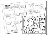 Coloring Parallelogram Quadrilaterals Activity Rectangles Squares Parallelograms Rhombi Pages Template sketch template