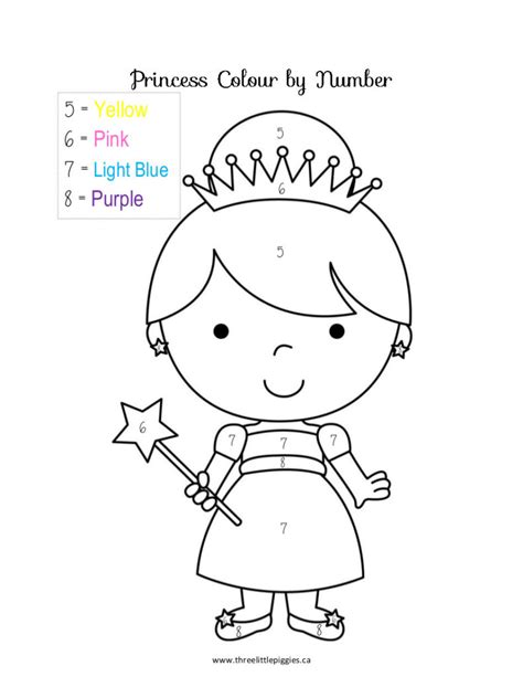Coloring Pages Preschool Number Coloring Pages Az Coloring Pages, Color By Number Coloring