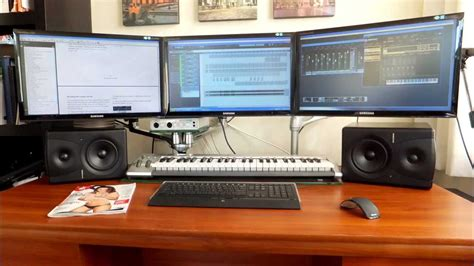 home recording studio complete setup youtube
