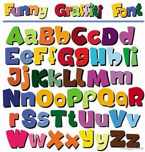 4 designer cartoon the pop letters of the alphabet vector With word art letters