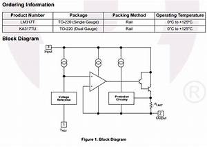 Lm317 Datasheet Pdf - Positive Voltage Regulator