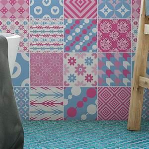 Stickers Carreaux De Ciment : 16 stickers carreaux de ciment scandinave bror salle de ~ Melissatoandfro.com Idées de Décoration