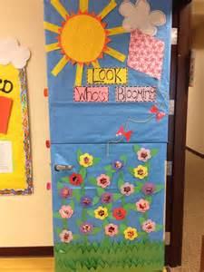 spring classroom door teaching ideas pinterest