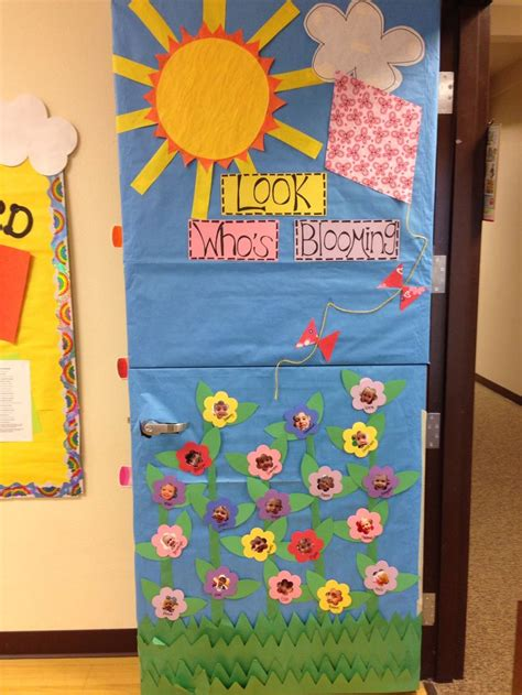 spring classroom door teaching ideas pinterest