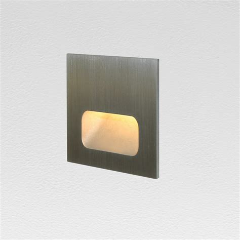 recessed wall light fixture led square outdoor ssl led