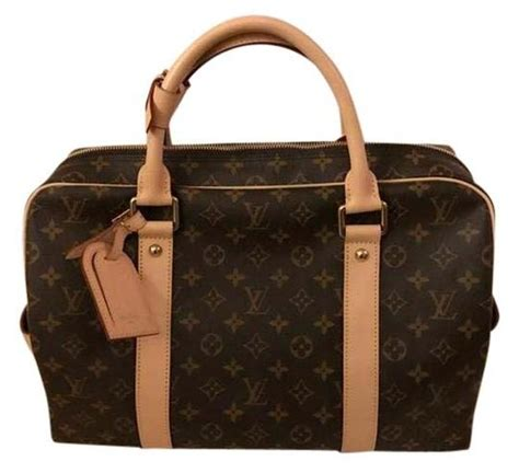 louis vuitton  classic monogram travel bag weekend