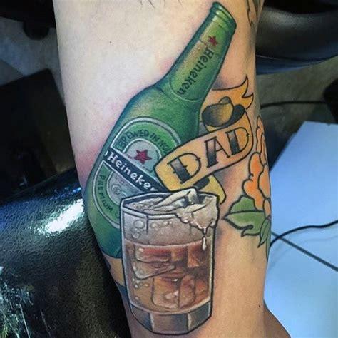 dad tattoos  men memorial ink design ideas