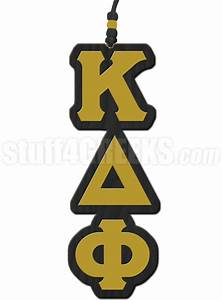 Kappa delta phi greek letter tiki necklace for Kappa delta phi letters